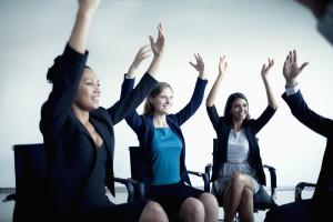 Corporate Yoga Stretch Class
